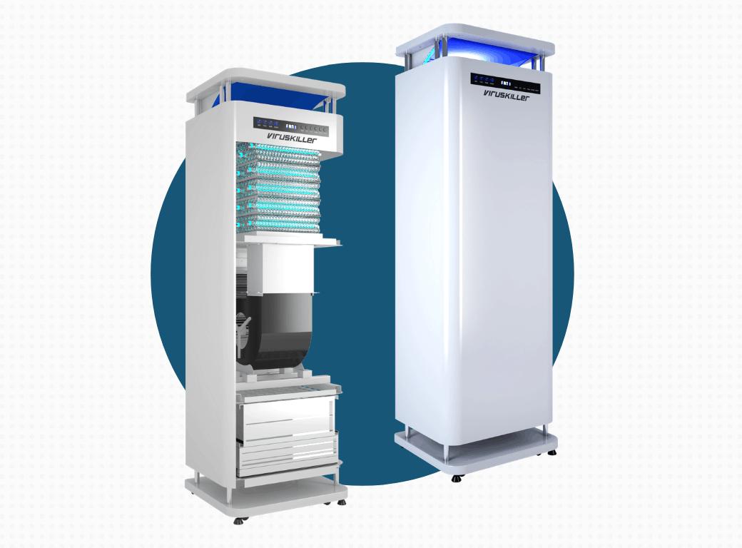 ESS Radic8 VK Medi Air Filtration System