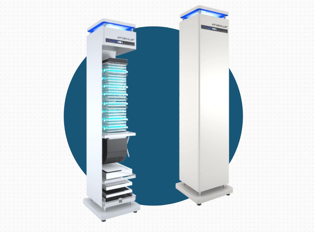ESS Radic8 VK102 Air Filtration System