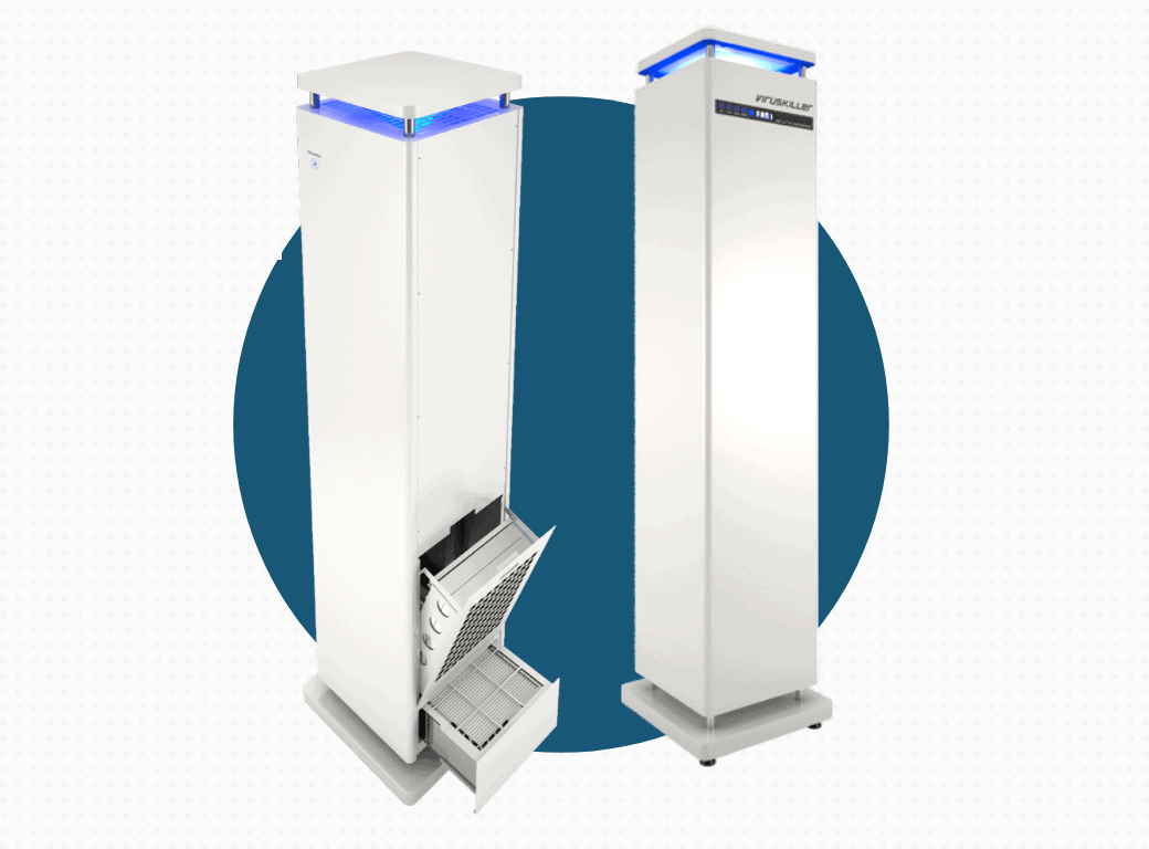 ESS Radic8 VK103 Air Filtration System