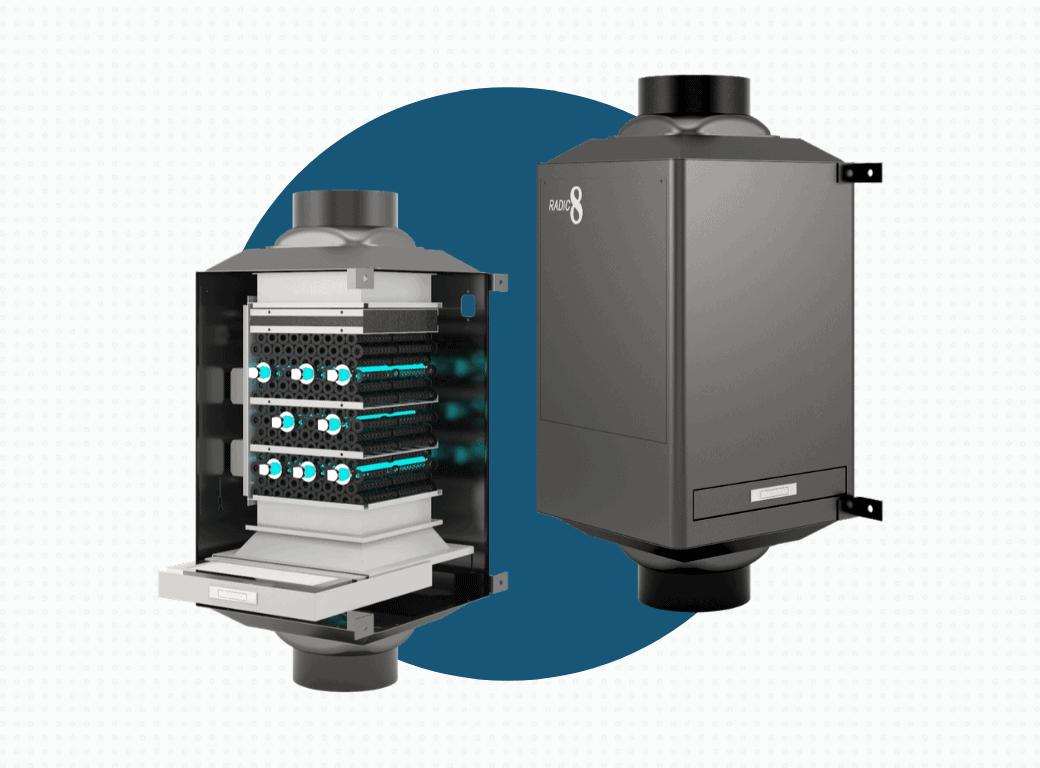 ESS Radic8 IAQ Inline Air Filtration System
