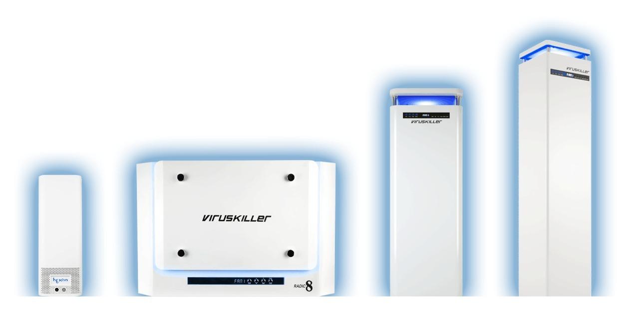 ESS Radic8 Air Filtration System Range