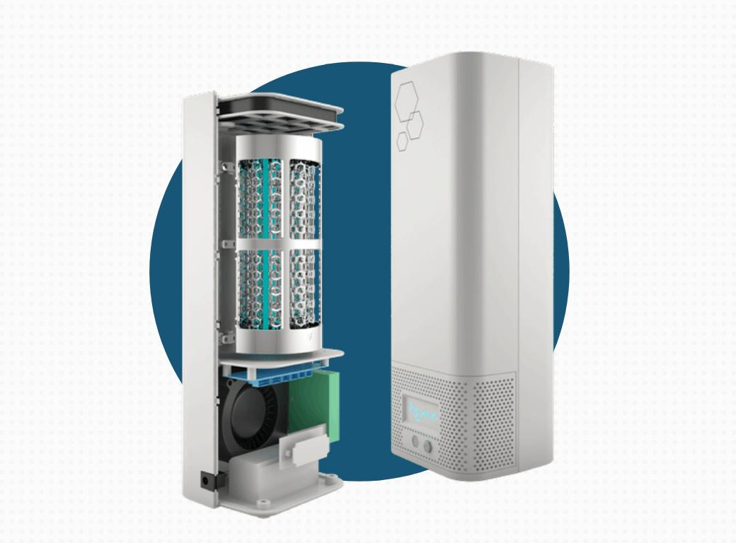 ESS Radic8 hextio Air Filtration System