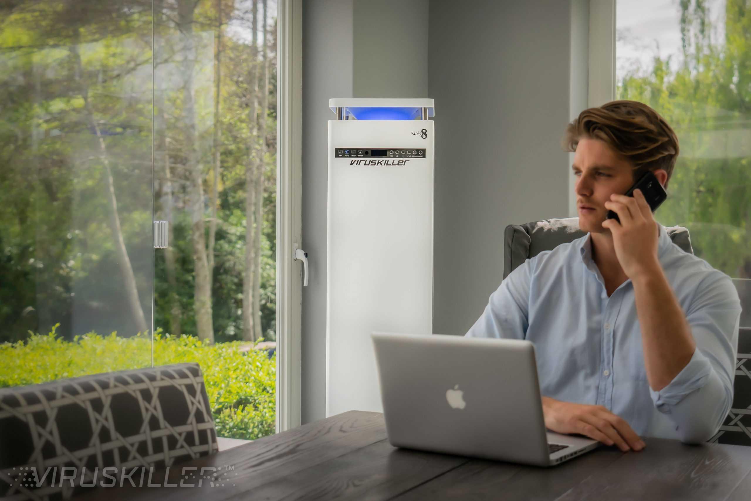 ESS Radic8 VK102 Air Filtration System Office