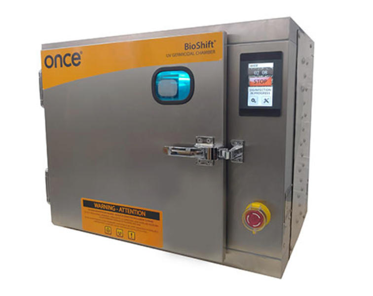 Once Bioshift Disinfection Chamber